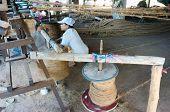 ������, ������: Asian Worker Coir Mat Vietnamese Coconut Fiber