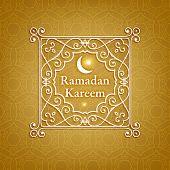 stock photo of hari raya  - Ramadan Kareem - JPG