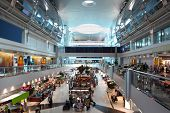 Big Modern Shopping Center In Dubai International Airport