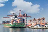 pic of harem  - Cargo Ship Docked At Haydarpasa Port Istanbul Turkey - JPG