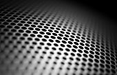 stock photo of diffraction  - Fragment of the mesh with the blur - JPG