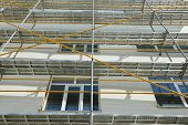 picture of scaffold  - repair home scaffolding building construction - JPG