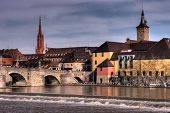 Wurzburg Riverfrontage