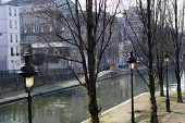 Canal St Martin In Paris
