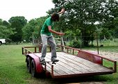 Board Sliding Trailor