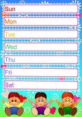 Calendário da mãe