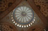 pic of mosk  - cupola of the blue mosque in istanbul - JPG