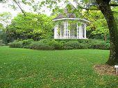 Pavilion In  Botanical Gardens