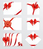 Collection Of Red Bows