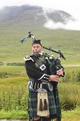 Scottish Bagpiper