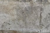 Gray Old Plaster Closeup. Old Gray Wall Background. Old Wall. Grey Plaster poster