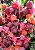 Assorted Beets At The Market