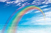 Rainbow Across Sea