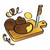 Potato and Knife