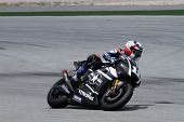 SEPANG, MALAYSIA - FEBRUARY 2: MotoGP rider Ben Spies Yamaha Factory Racing Team takes to the track