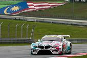 SEPANG - JUNE 19: The 'GSR&Studie with TeamUKYO' BMW car takes to the track of Sepang International