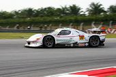 SEPANG, MALAYSIA - JUNE 18: The Vemac 320R car of R'Qs Motorsports puts in some practice laps in the