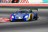 SEPANG, MALAYSIA - JUNE 18: The Lexus car of Lexus Team Zent Cerumo puts in some practice laps in th