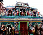 The Hindu Sri Mariamman Temple In Singapore