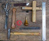 Постер, плакат: Leather Craft Tools