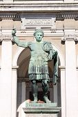 picture of tyranny  - Statue of emperor Constantine in front St - JPG