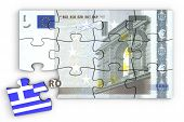 5 Euro Note Puzzle And A Greek Piece