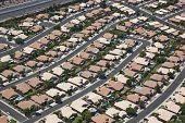 Suburban Southwest Community from above