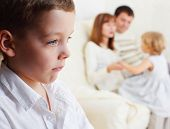image of stepmother  - Boy is jealous parents of younger sister - JPG