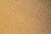 Cork Texture, Cork Borad Or Notice Board. Close Up Background And Texture Of Cork Board Wood Surface poster