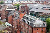 Redbrick architecture of Nottingham, uk