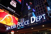New York Police Department, Times Square, Manhattan