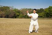 chinese kung fu man