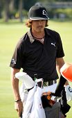 PONTE VEDRA BEACH, FL-MAY 08: Ricky Fowler at The Players Championship, PGA Tour, on practice day Ma