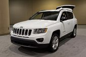 JACKSONVILLE, FLORIDA-FEBRUARY 18: A 2012 Jeep Compass at the Jacksonville Car Show on February 18,