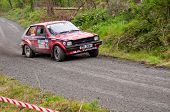 S. Mcgirr Driving Toyota Starlet