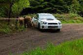 J. Connors Driving Subaru Impreza