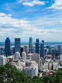 View Of Montreal Downtown, Montreal, Quebec, Canada poster