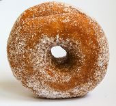 Sugared ring doughnut