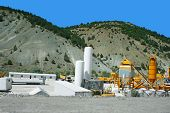 image of movable  - Movable asphalt mixer plants in Turkey - JPG