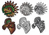 Mayan glyphs, Eagle Gods