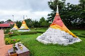 Three Pagodas Pass Is A Border Pass To The Union Of Myanmar On The Border Between Thailand And Myanm poster