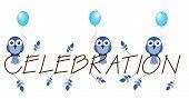 Celebration blue