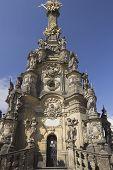 The Holy Trinity Column In Olomouc (czech Republic)