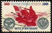 Stamp  Battle Of New Orleans