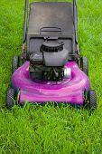 Pink Lawn Mower