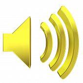 Speaker Icon 3D