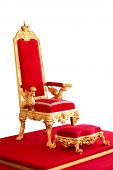 picture of throne  - Golden emperor - JPG