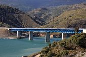 Bridge At The Autovia Sierra Nevada