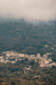 Village Of Feliceto In Corsica poster