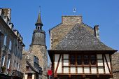 Dinan old architecture